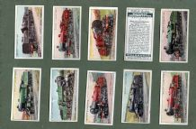 Cigarette cards set Railway Locomotives 1930, Great Western Railway etc